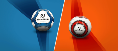 Design Bola de Futsal Team Quest